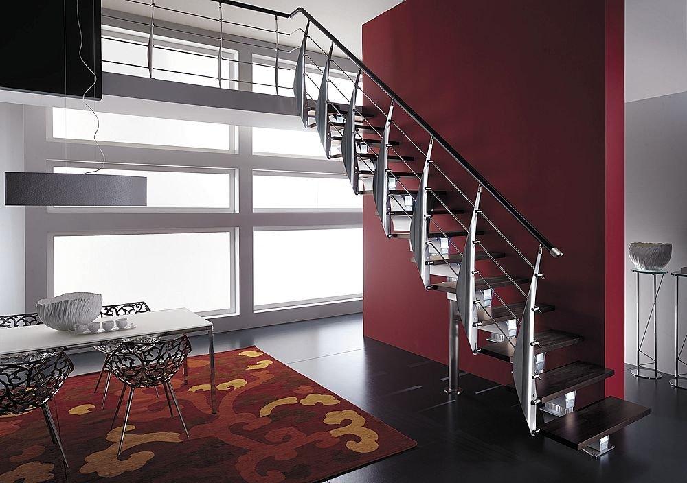 Considera la iluminación de la escalera