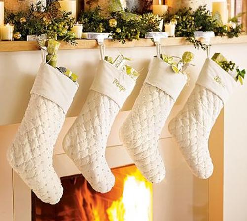 Calcetines para decoración navideña