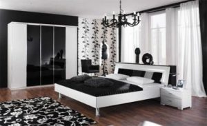 Ideas de decoración en blanco y negro 1