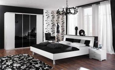 Ideas de decoración en blanco y negro 1