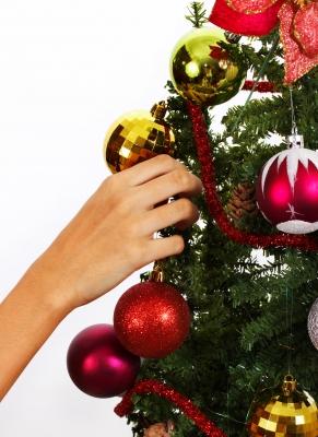árbol de navidad reciclable