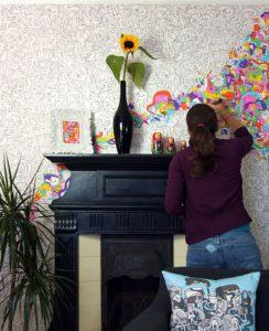 Ideas económicas para decorar la pared 1