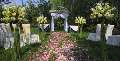 Ideas para decorar un jardín para una boda 8