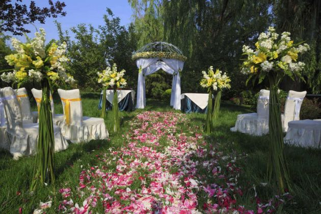 Ideas para decorar un jardín para una boda 1