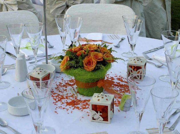 jardín para una boda
