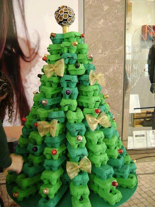 árbol original de navidad