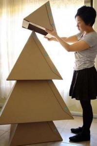 cómo hacer un pino de cartón