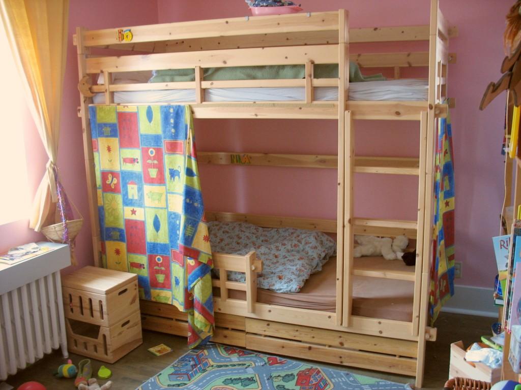 Literas madera infantiles