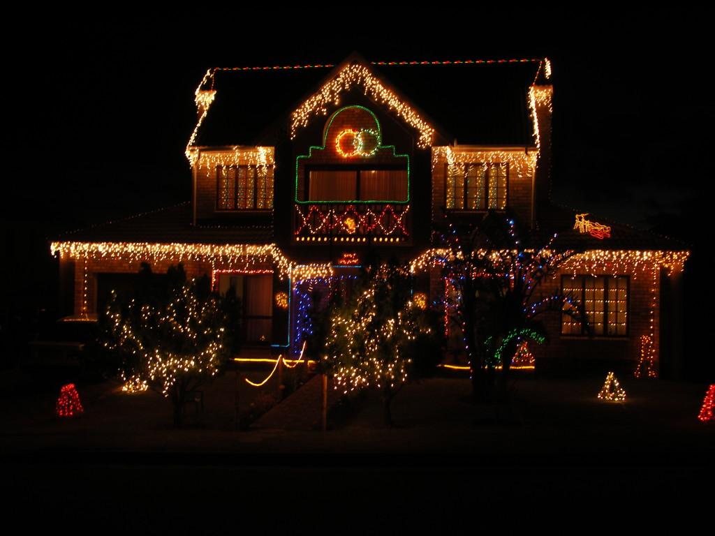 Decoraciones navideñas exteriores