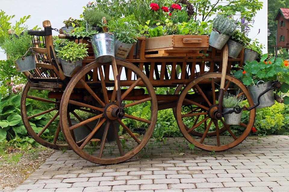 Carros para el jardín