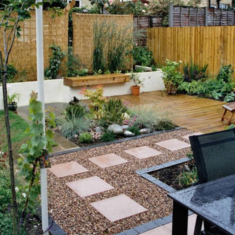 Ideas para decorar un jardín pequeño 1
