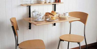 Ideas de comedores para espacios reducidos 2