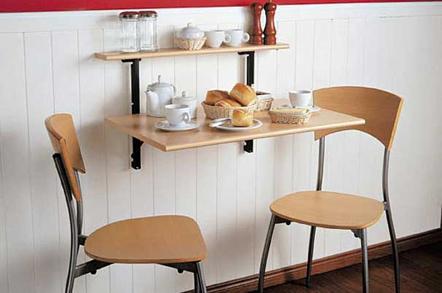 Ideas de comedores para espacios reducidos 1