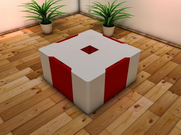 comedor en cubo