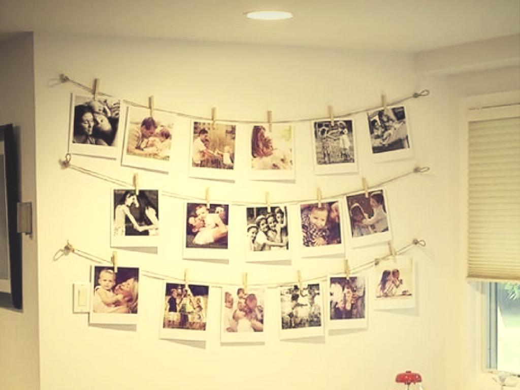 Guirnalda de fotografías