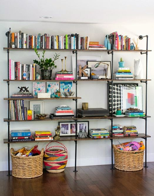 Librería decorado
