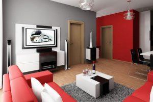 decorar espacios con muebles de colores