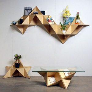 muebles figura geométrica