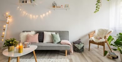 decoración salón