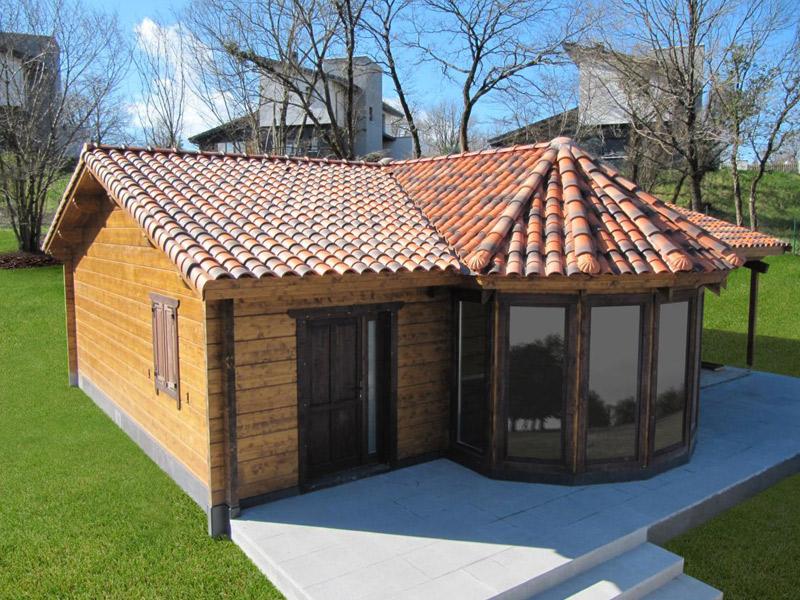 casa madera jardin arbol