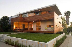 casa ecologica jardin arboles