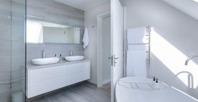 baño ducha aislar extractor