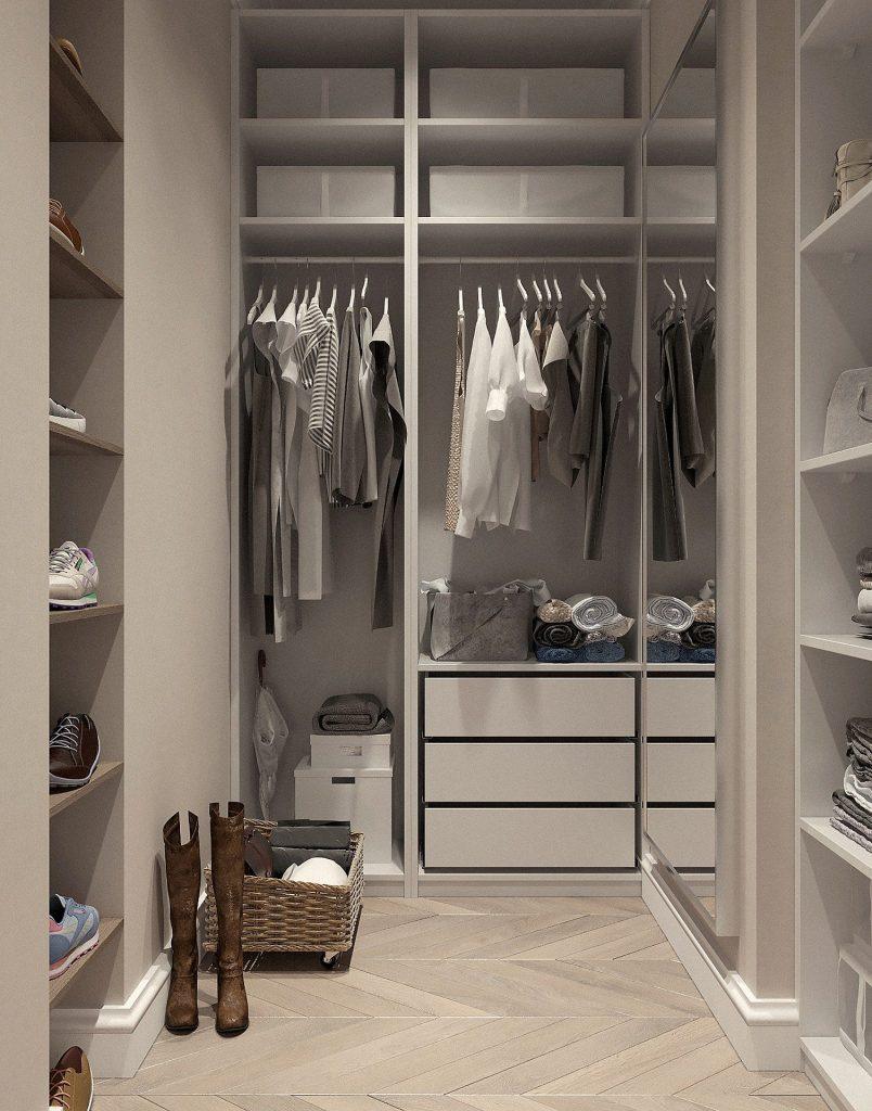 armario abierto