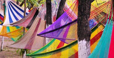 hamacas de colores