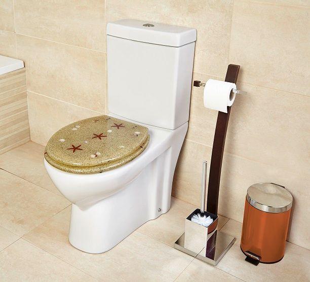 inodoro baño decorado estilo
