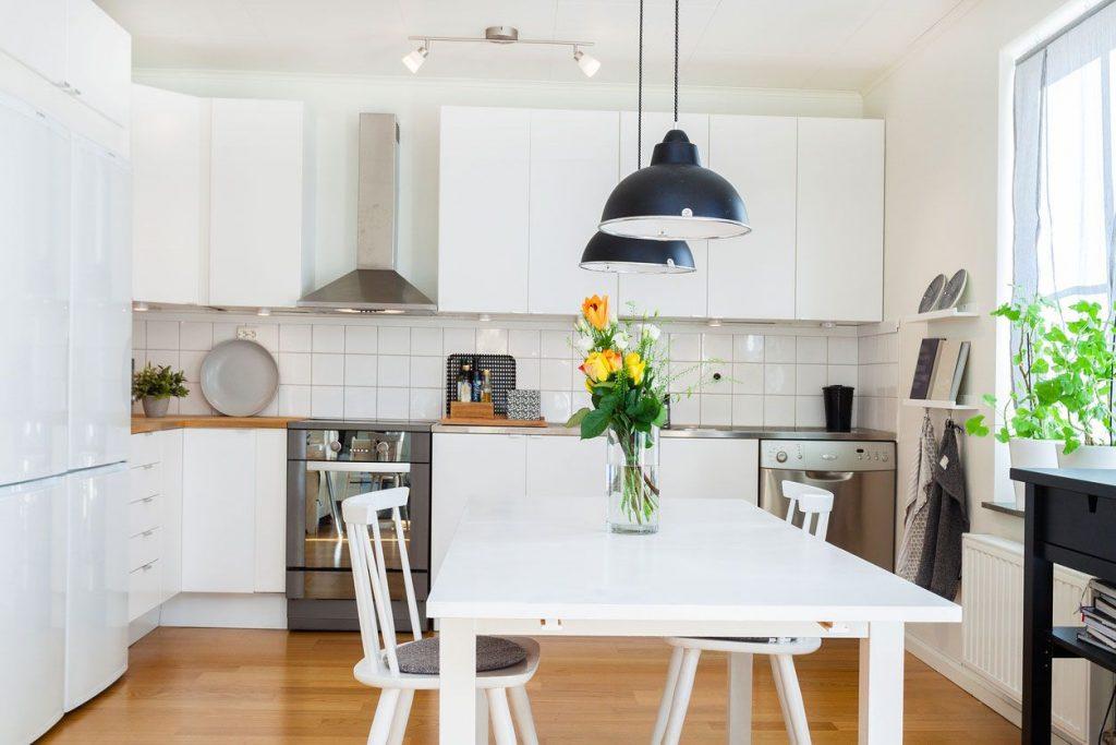Planifica la iluminación de la cocina
